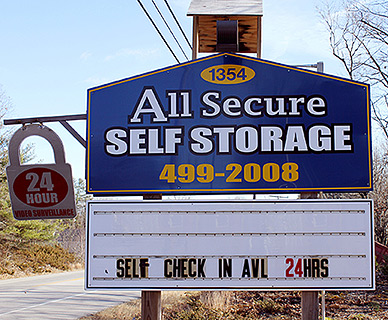 All Secure Self Storage in Lyman, Maine - Serving Southern Maine